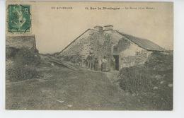 EN AUVERGNE - Sur La Montagne - Le Buron (carte Postée à AURILLAC ) - Non Classés