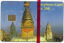 @+ TC Du Népal : NTC Services (2002) - Code Haut Gauche - 2001 02XXX - Mint NSB - Nepal