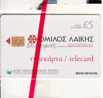 CYPRUS - Laiki Bank Group, Chip GEM3.3, 02/01, Mint - Cyprus