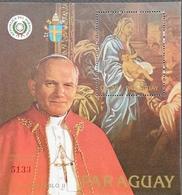 Paraguay  1983 Pope John Paul II S/S - Paraguay