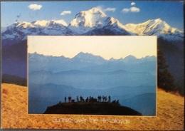 Ak Nepal - Sunrise Over The Himalayas - Nepal