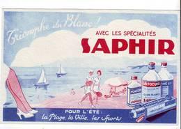 18 B Buvard Spécialtés Saphir Très Bel état (tennis) - Wash & Clean