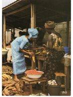 AFRIQUE EN COULEURS SCENE DE MARCHE - Postcards