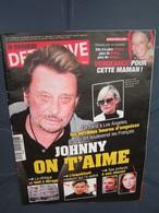 Détective 2009 1422 JOHNNY HALLIDAY LAETITIA DAVID LAURA SMET - Livres, BD, Revues