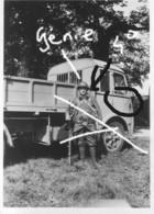Armée Française Camion  France 40 4°Génie Grenoble - Krieg, Militär