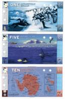 1996 // ANTARCTICAN DOLLARS // 1 & 5 & 10 & 20 & 50 & 100 Dollars // SPECIMEN // UNC - Billets