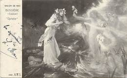 Tableaux -ref A853- Arts - Tableau -peinture - Illustrateurs -illustrateur -nu - Nude - Femmes -peintre Bussiere Gaston - Paintings