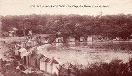 ILE DE NOIRMOUTIER - La Plage Des Dames à Marée Haute - Ile De Noirmoutier