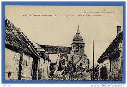 Us109 CPA 2056 La France Reconquise L'Eglise De Pernant Pres Soissons / 02 Aisne (non écrite) - War 1914-18