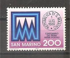 San Marino - Serie Completa Nuova: Centenario Degli Interi Postali - 1982 * G - Unused Stamps