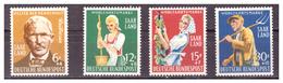 SAAR/SARRE -  1958 - BENEFICENZA. SERIE COMPLETA. -  MNH** - 1957-59 Federazione