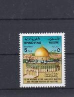 Iraq The Palestine People  MNH/** (M33) - Iraq