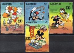 LESOTHO  Lot De Timbres Neufs ** De 1992  ( Ref 2470 A ) Disney - Expo Colomb - Lesotho (1966-...)