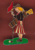 54731-Pin's.Golf Feminin.pin Up.. - Golf