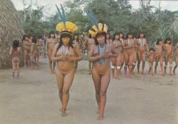 CPSM GUYANE N° M 3011 Indiens Du Haut-Oyapock Indian Erotisme Nude Nu Ethnologique Nu Féminin Eros Curiosa Risque - Guyane