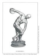 "Gravure Phil@poste ""Le Discobole"" - Copie Romaine D'une Sculpture En Bronze De Myron - Documenten Van De Post"
