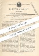 Original Patent - Alfred Horatio Harrison , Palace Chambers , Westminster , England , 1883 , Metallblock Für Stempel !! - Historische Documenten