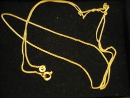 Kette - 585er Gold - 60cm  (686) - Halsketten