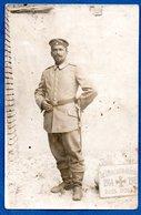 Carte Photo  - Soldat Allemand -- - War 1914-18