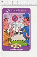 Humour Panneau Circulation Routière Défense De Stationner Agent De Police/ 135/11 - Non Classés