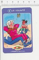 Humour Sport Salle De Gymnastique Féminine Abdominaux Anneaux 135/11 - Non Classés
