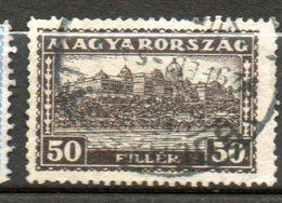 HONGRIE  Palais Royal 1926-27 N°393 - Hongrie