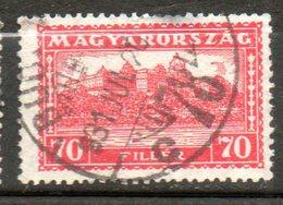 HONGRIE  Palais Royal 1926-27 N°394 - Hongrie
