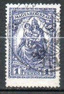 HONGRIE  Madone 1926-27 N°395 - Hongrie