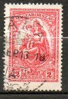 HONGRIE  Madone 1926-27 N°396 - Hongrie