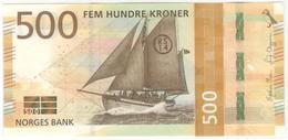 Norway 500 Kronen 2018 Pnew AUNC - Norvegia