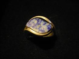 Silber-Ring Mit Lapislazuli - Serie Y  (688) - Ringe
