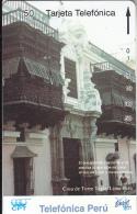 PERU(Tamura) - Torre Tagle House(0018), CPT/Telefonica/Entel 50 Units, 12/94, Used - Peru