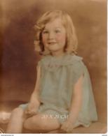 Old Big Photo Foto Original Lithuania Nice Girl Lot #11230 - Lithuania