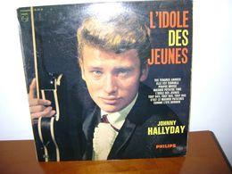 JOHHNY HALLYDAY N°4  33T 25 CM L'IDOLE DES JEUNES ORIGINAL RARE 76571R - Vinyl Records