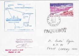 TAAF222 - Lot De 5 Lettres Port Aux Français Et Le Port (Réunion) - Französische Süd- Und Antarktisgebiete (TAAF)