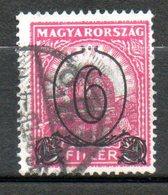 HONGRIE  Couronne De St Etienne 1930 N° 435 - Hongrie