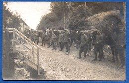 Carte Photo  - Soldats Allemands --  10/1917 - Guerre 1914-18