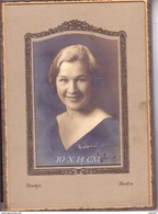 1920 S Photo Foto Original Framed Lithuania Emigrants  Made By Purdy's Boston USA Lot #11228 - Lithuania