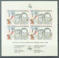 CSR 1987-2908 PRAGA FILA, CZECHOSLOVACHIA, S/S, MNH - Blocs-feuillets