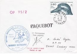 TAAF223 - Lot De 5 Lettres Port Aux Français Et Le Port (Réunion) - Französische Süd- Und Antarktisgebiete (TAAF)