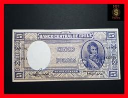CHILE  5 Pesos  1958  P. 119  UNC - Chili