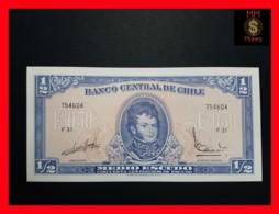 CHILE  ½ Escudos  1962  P. 134 A  UNC - Chili