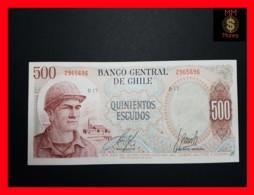CHILE  500 Escudos  1971  P. 145  UNC - Chili