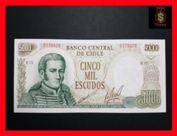 CHILE  5.000 5000 Escudos  1973  P. 147  UNC - Chili