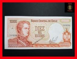 CHILE  10.000 10000 Escudos  1973  P. 148  UNC - Chili
