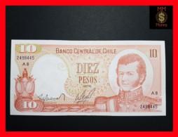 CHILE  10 Pesos 1976  P. 150  UNC - Chili