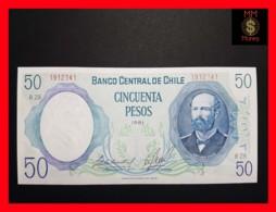 CHILE  50 Pesos  1981  P. 151  UNC - Chili