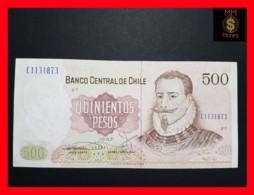 CHILE  500 Pesos  1987  P. 153  VF - XF - Chili