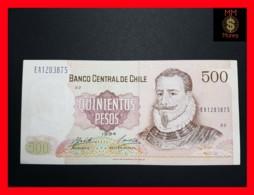 CHILE  500 Pesos  1994  P. 153  VF - XF - Chili