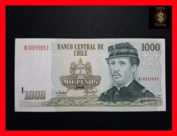 CHILE  1.000 1000 Pesos  2006  P. 154  MARK FOR BLINDS  UNC - Chili